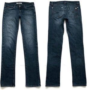 Joe's Jeans Straight Slim Cigarette Straight Blue